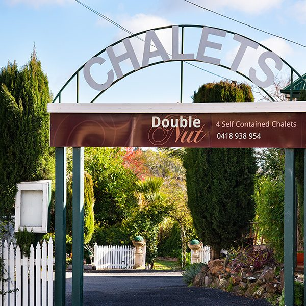 Double Nut Chalet Driveway Archway